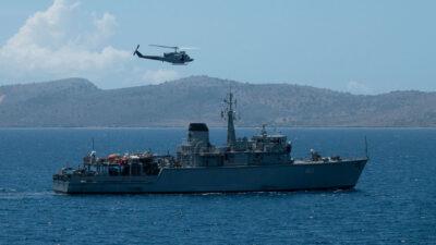 Αριάδνη - Πολυεθνική Άσκηση Ναρκοπολέμου στον Πατραϊκό κόλπο, Ιούνιος 2020