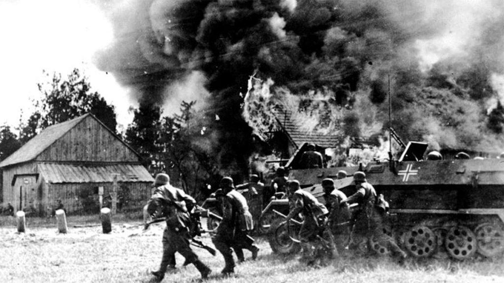 Β'ΠΠ - Ναζιστική Γερμανία - ΕΣΣΔ - «Επιχείρηση Μπαρμπαρόσα»