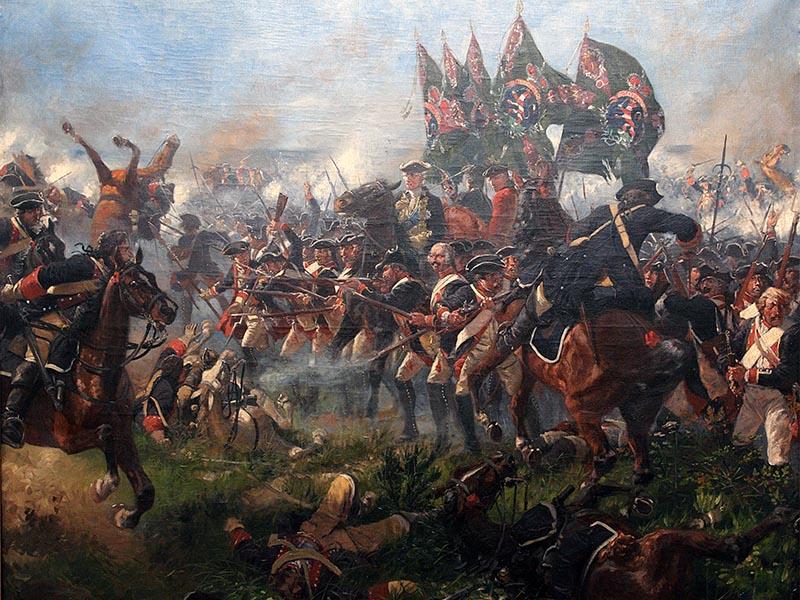 Γαλλία - Συμμαχικές δυνάμεις - Μάχη του Κρέφελντ, 1758