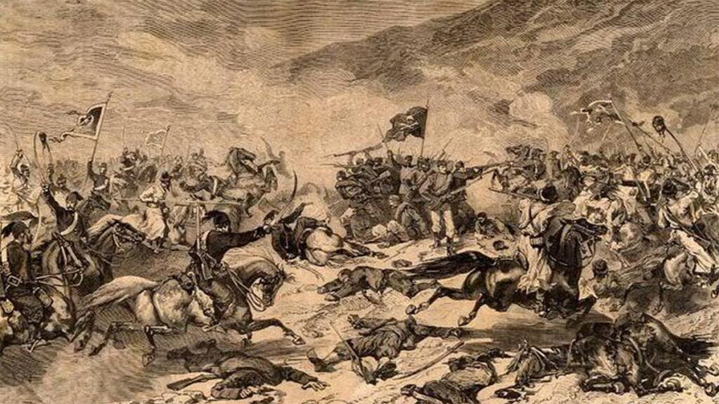 Από την μάχη της Μοράβας