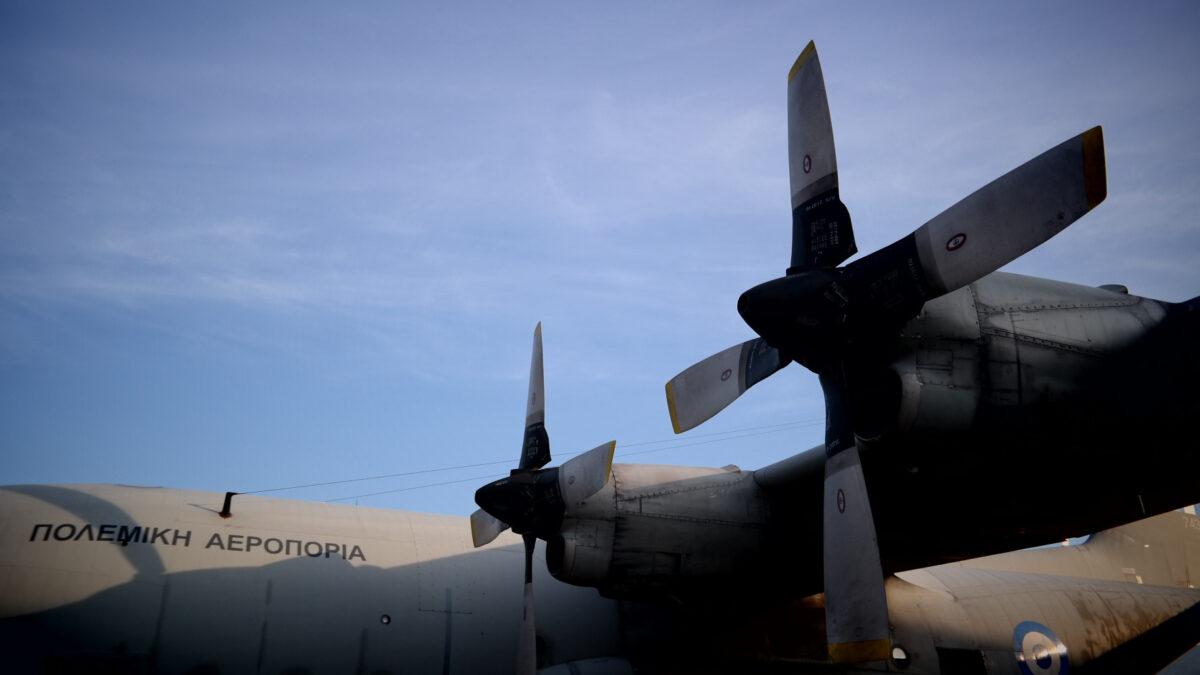 Αεροπλάνο της Πολεμικής Αεροπορίας C-130