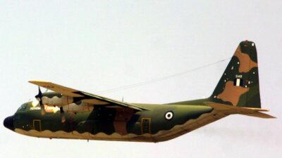 Πολεμική Αεροπορία - Αεροπλάνο Μεταγωγικό C-130H Hercules
