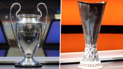 Οι «Κούπες» του Champion League και του Europa League