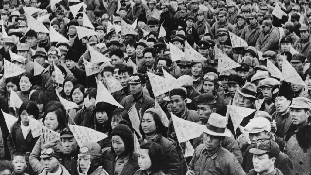 Κίνα - Σαγκάη - εργατικές κινητοποιήσεις, 1919 - αντιιμπεριαλισμός