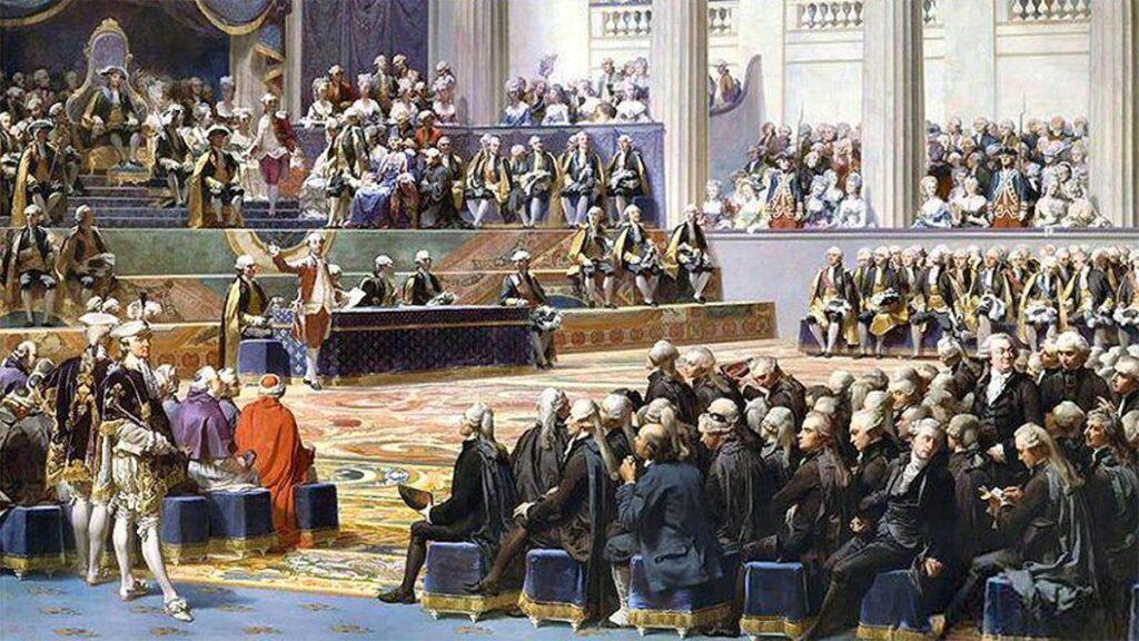 Λουδοβίκος 16ος - συνεδρίαση των «Γενικών Τάξεων», 1789