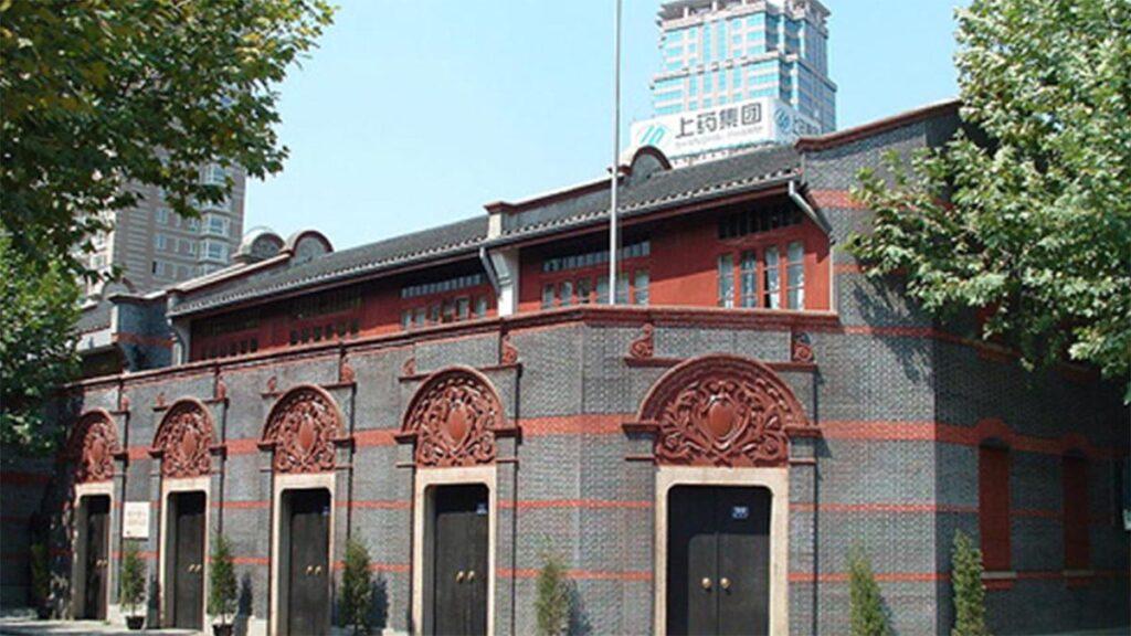Το κτίριο που πραγματοποιήθηκε στο 1ο Συνέδριο του ΚΚ Κίνας