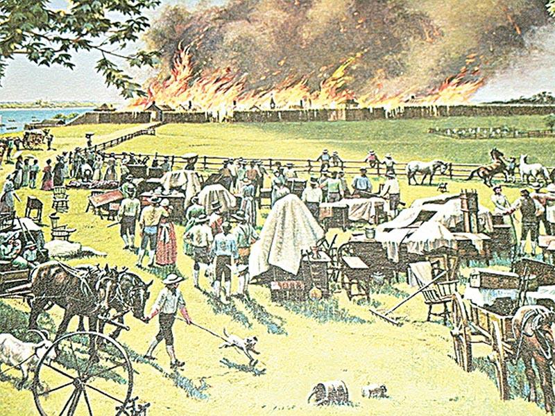 ΗΠΑ - Ντιτρόιτ - Φωτιά, 1805