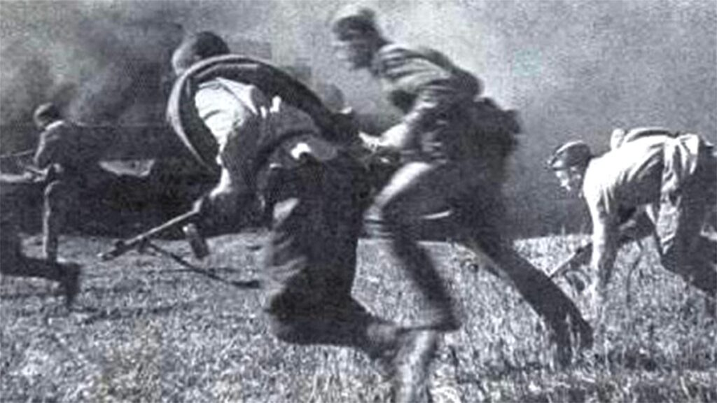 Β'ΠΠ - Κόκκινος Στρατός -  Λευκορωσία - αντεπίθεση, 1943