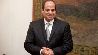 Πρόεδρος της Αραβικής Δημοκρατίας της Αιγύπτου Abdel Fattah Al-Sisi