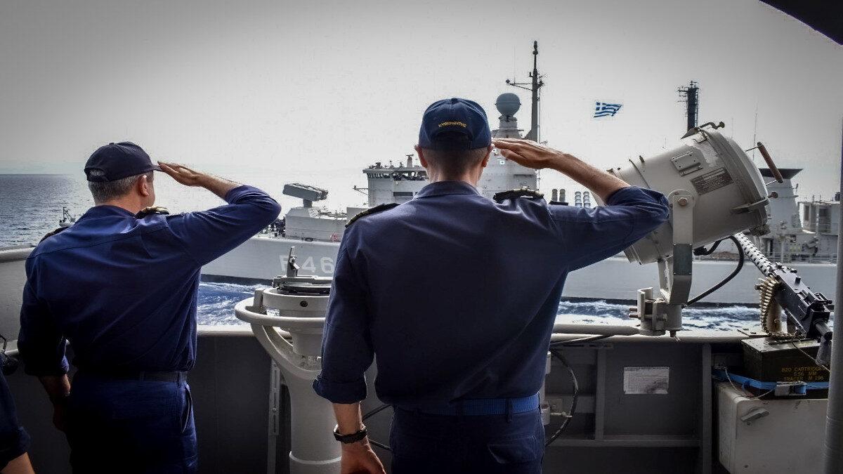Άσκηση εκπαίδευσης του Πολεμικού Ναυτικού