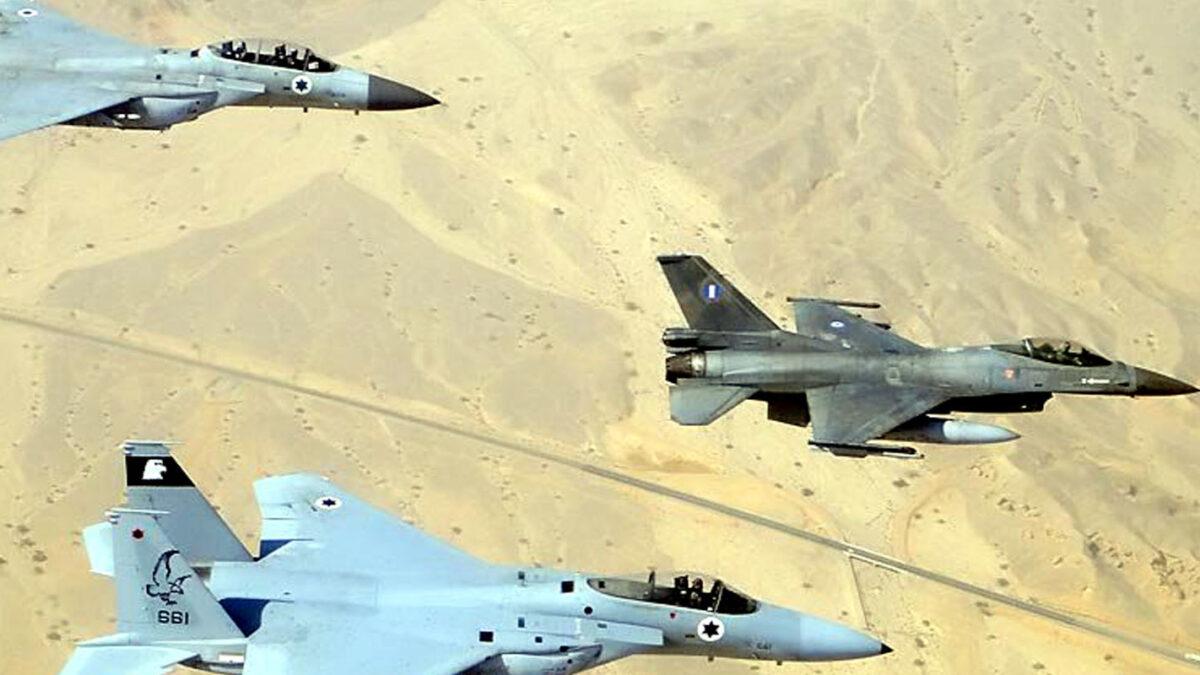 Νοέμβριος 2011, κοινή εκπαίδευση κλιμακίου της 110 Πτέρυγας Μάχης, με 5 F16 Block 52+ της 337 Μοίρας με αεροσκάφη της Ισραηλινής Πολεμικής Αεροπορίας στην αεροπορική βάση Ovda στο Ισραήλ, στο πλαίσιο του προγράμματος Στρατιωτικής Συνεργασίας Ελλάδας - Ισραήλ