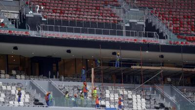 Εργάτες Μουντιάλ Κατάρ παγκόσμιο κύπελλο ποδοσφαίρου