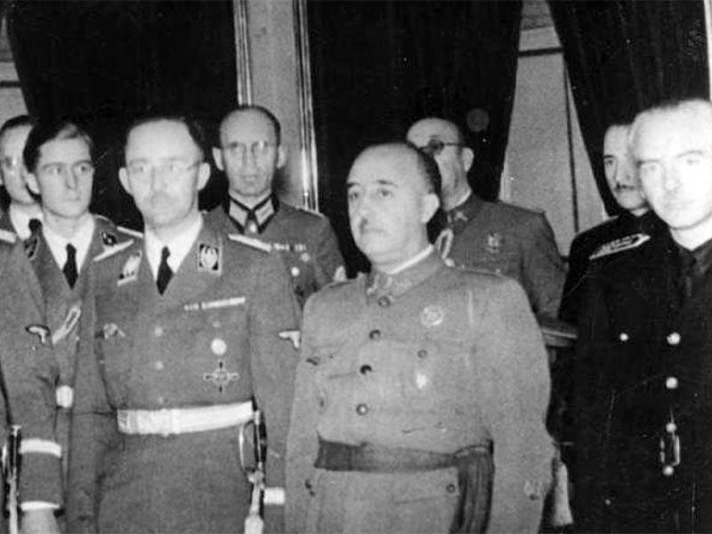 Ναζιστική Γερμανία - Ισπανοί φασίστες - Φράνκο - Χάινριχ Χίμλερ