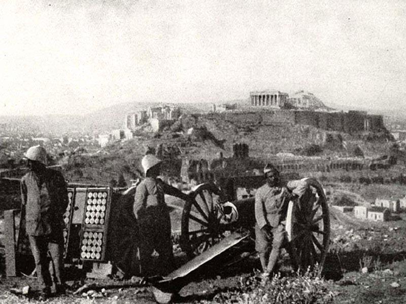 Ελλάδα - Γαλλία - παραίτηση Κωνσταντίνου, 1917