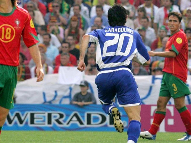 Αθλητισμός - Ποδόσφαιρο - Euro 2004  - Πορτογαλία-Ελλάδα 1-2 στο Euro 2004