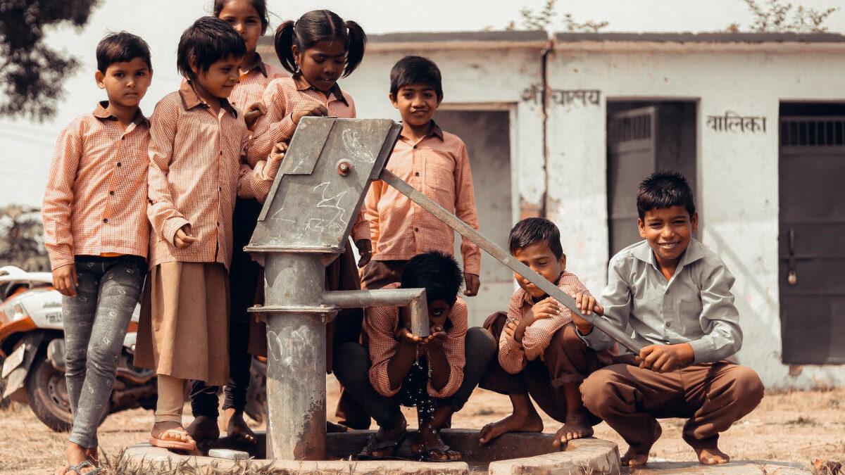 Παιδιά στην Ινδία