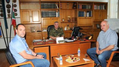 Επίσκεψη του Νίκου Καραθανασόπουλου στο ΚΕΤΧ-Πάτρα