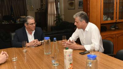 Συνάντηση Δ. Κουτσούμπα με τον Δήμαρχο Ορεστιάδας