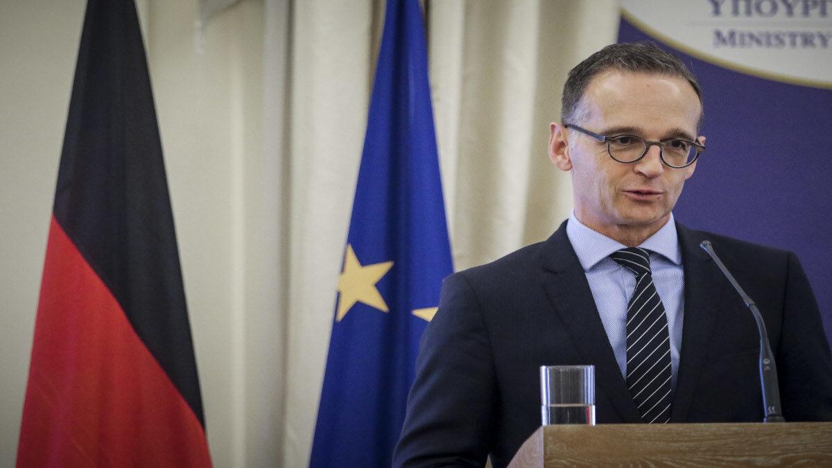 Χάικο Μάας, Υπουργός Εξωτερικών Γερμανίας Μάας