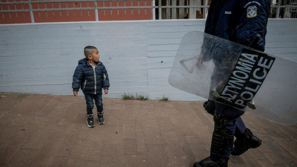 Λέσβος - Ματατζής - παιδί μετανάστης