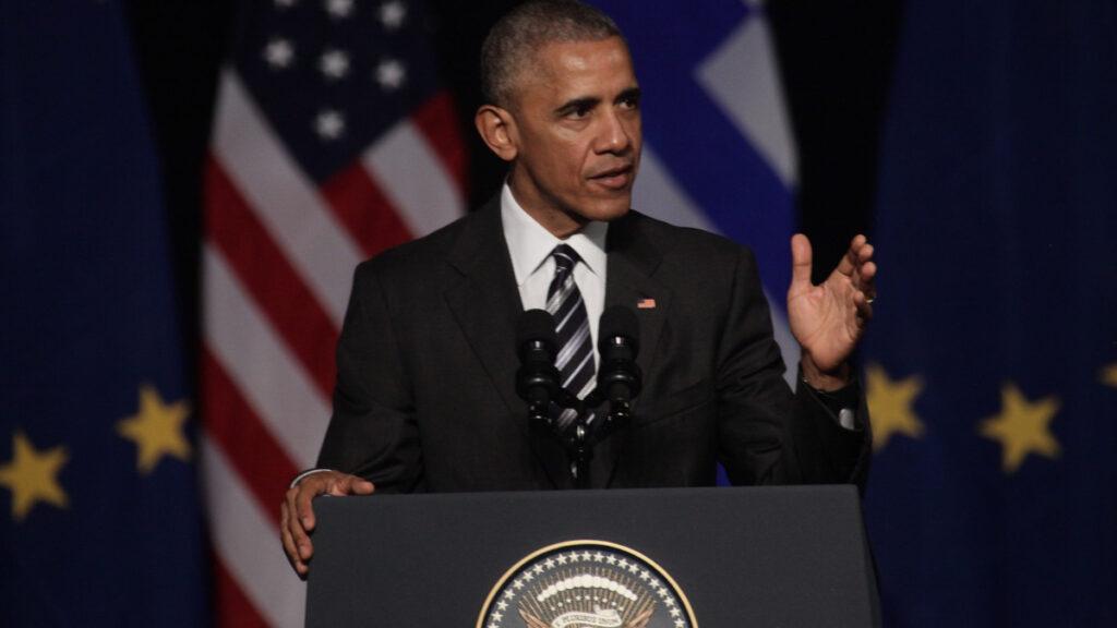 Μπάρακ Ομπάμα από την επίσκεψη στην Αθήνα 16/11/2016