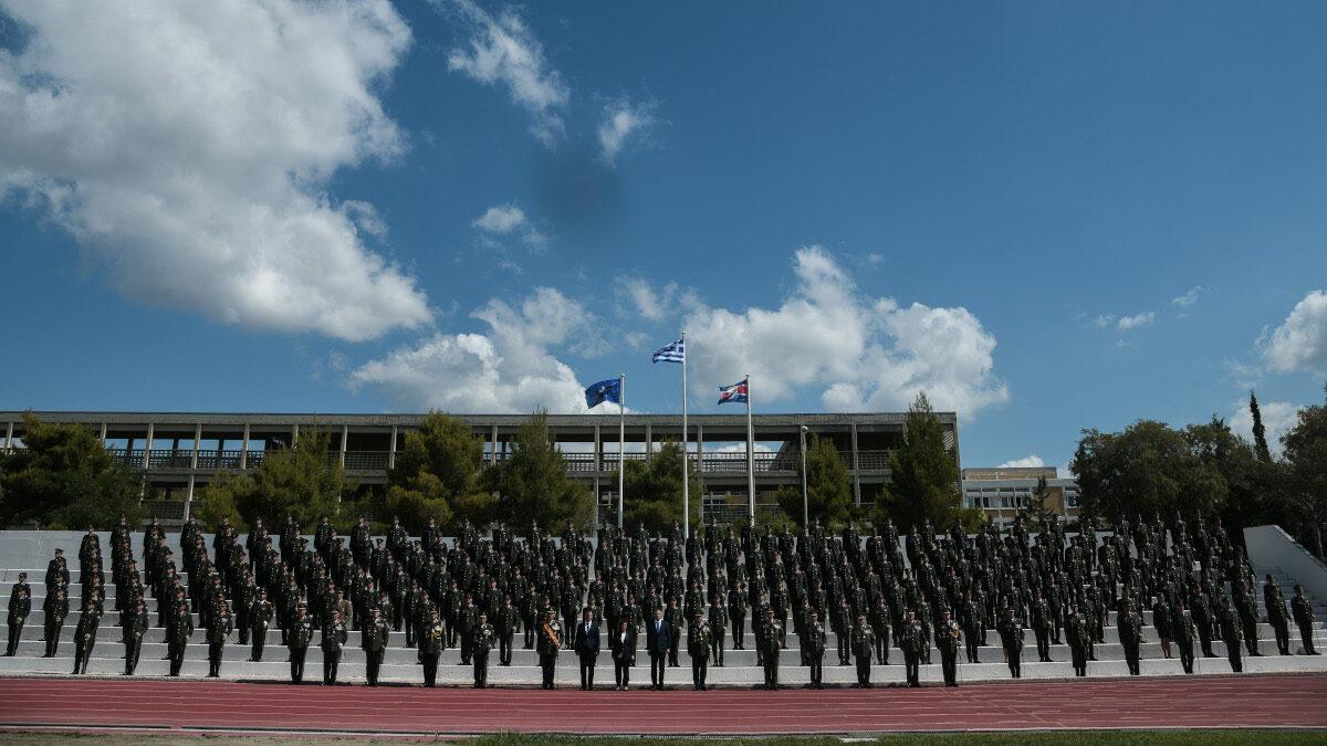 Στρατιωτική Σχολή Ευελπίδων, τελετή αποφοίτησης και ορκωμοσίας των νέων Ανθυπολοχαγών Τάξεως 2020