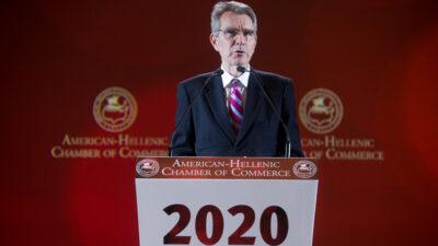 Ο Αμερικανός Πρέσβης Τζ. Πάιατ