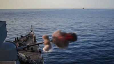 Βολή-Πολεμικό Ναυτικό- Πλοίο