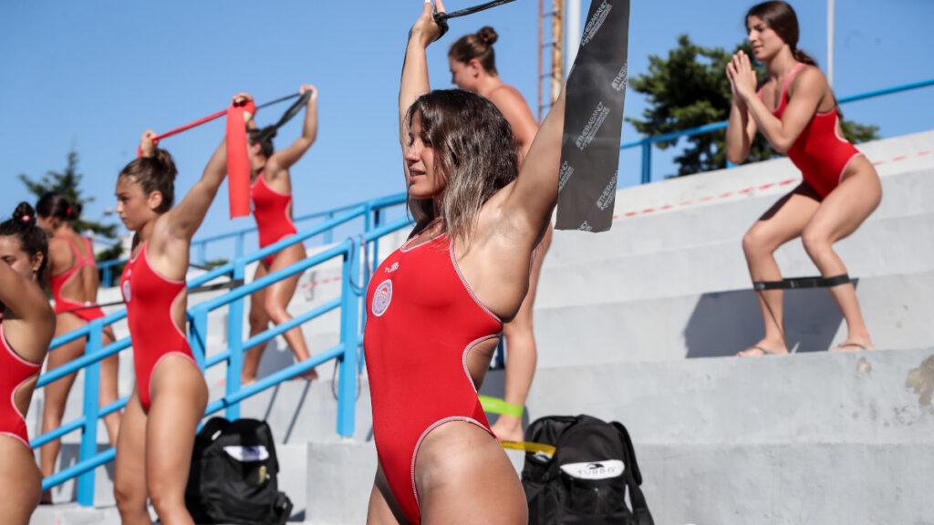 Από τις πρώτες προπονήσεις της Υδατοσφαίρισης μετά την καραντίνα