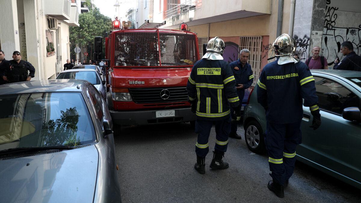 Πυρκαγιά σε διαμέρισμα στα Εξάρχεια
