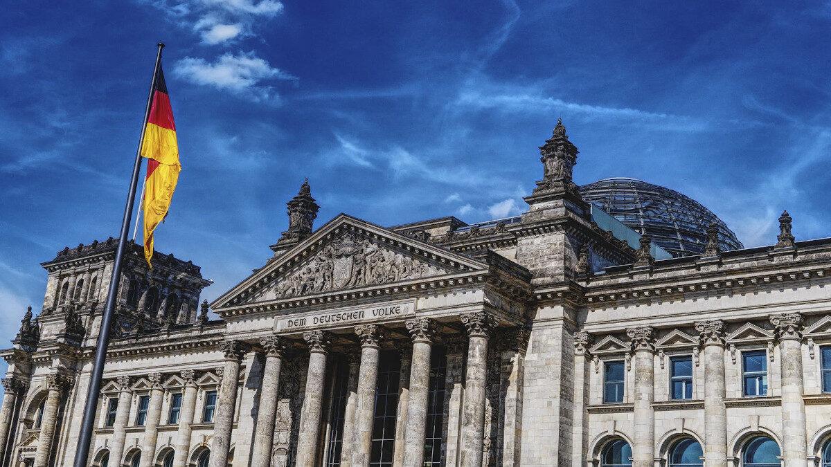 Ράιχσταγκ Βερολίνο Γερμανία
