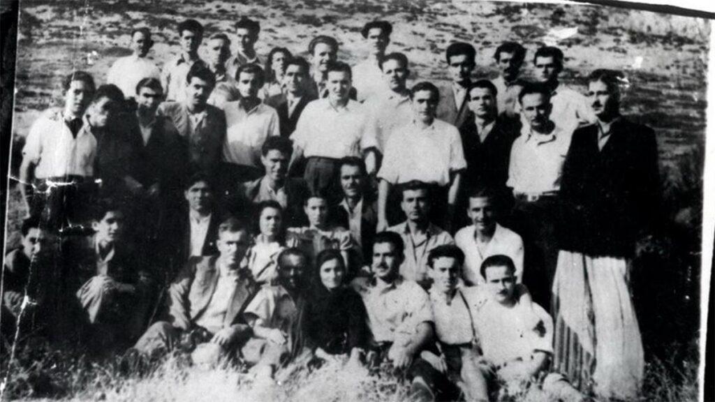 Β'ΠΠ - Κατοχή - Σανατόριο Ασβεστοχωρίου