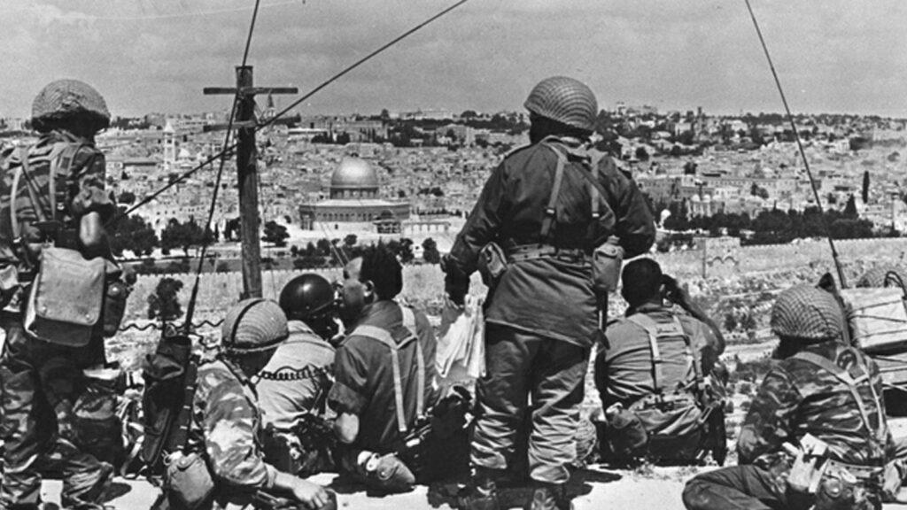 Ισραήλ - εισβολή - πόλεμος των έξη ημερών, 1967