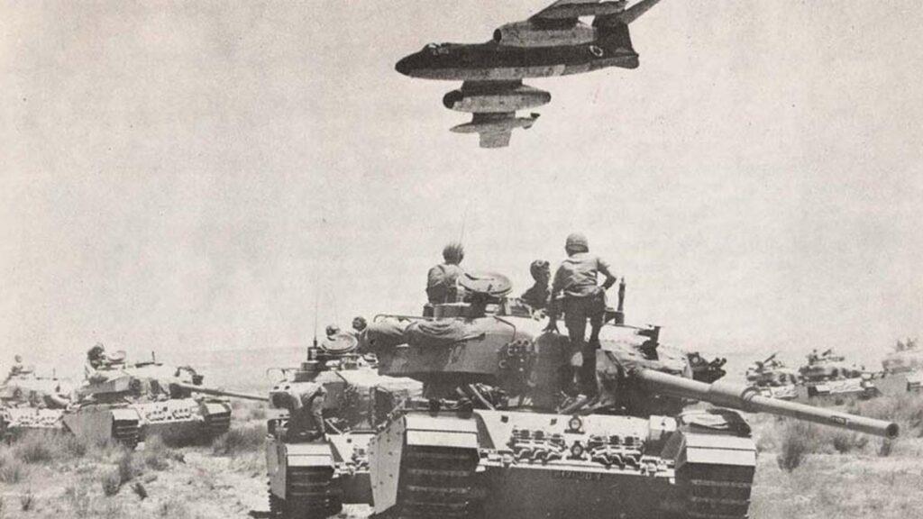 Ισραήλ - εισβολή - πόλεμος των έξη ημερών, 1967στρατεύματα