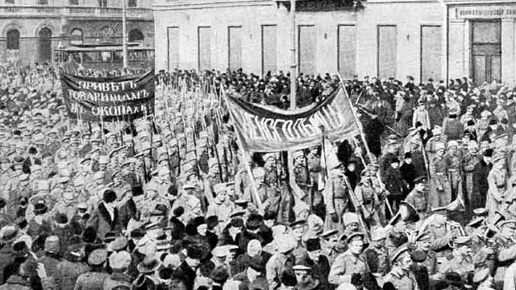 Ρωσία - Από την Φεβρουαριανή Επανάσταση, 1917