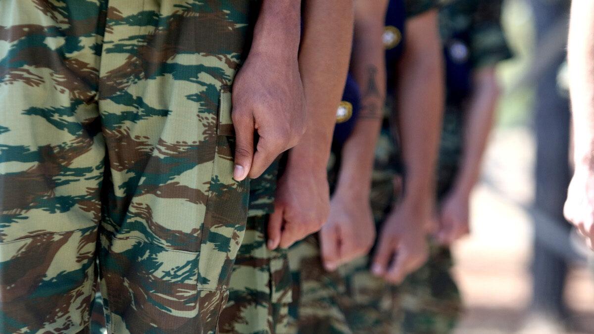 Στρατιώτες- Ορκωμοσία