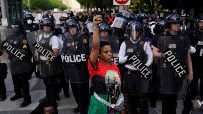 ΗΠΑ Διαδηλωσεις Φλοιντ