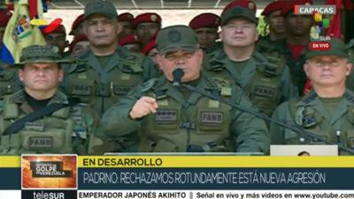 Παντρίνο, υπουργός Άμυνας Βενεζουέλας