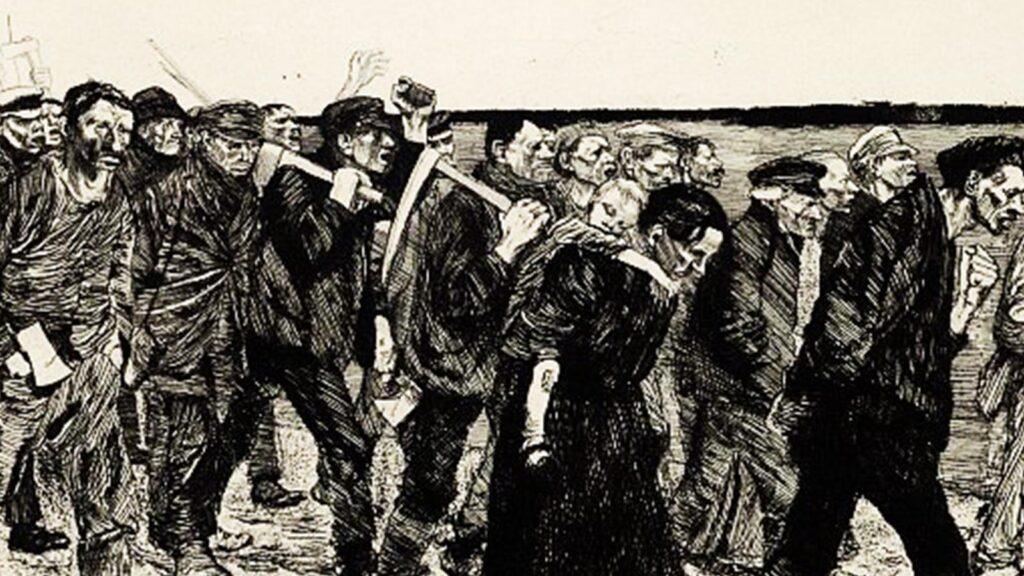 Εργατικό κίνημα - Πρωσία - εξέγερση υφαντουργών, 1844