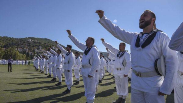 Τελετή Ορκωμοσίας Ναυτών 2020 Β΄ ΕΣΣΟ