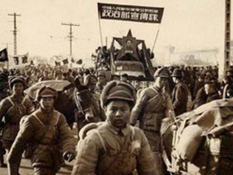 Άνδρες του Λαϊκού Απελευθερωτικού Στρατού της Κίνας το 1927
