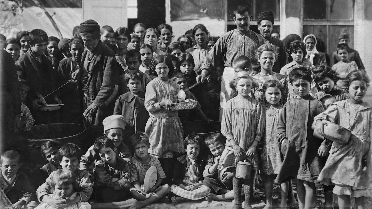 Η Ελλάδα του 1930 - Συσσίτια