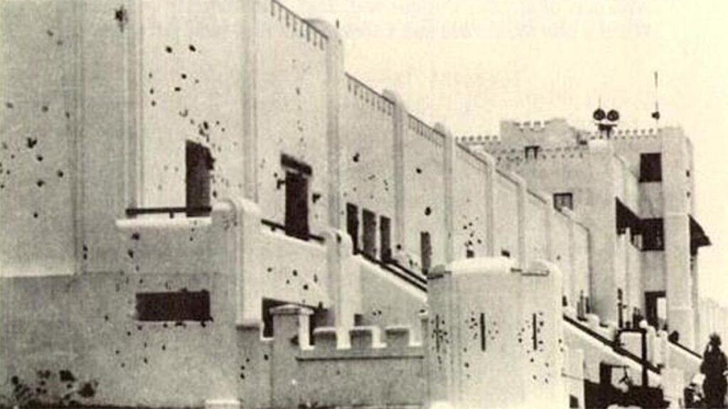 Το στρατόπεδο της Μονκάδα μετά την επίθεση