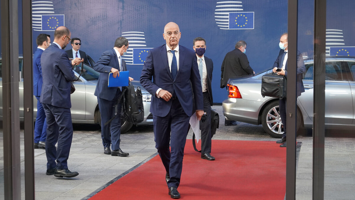 Ο Νίκος Δένδιας στο Συμβούλιο Εξωτερικών Υποθέσεων της ΕΕ