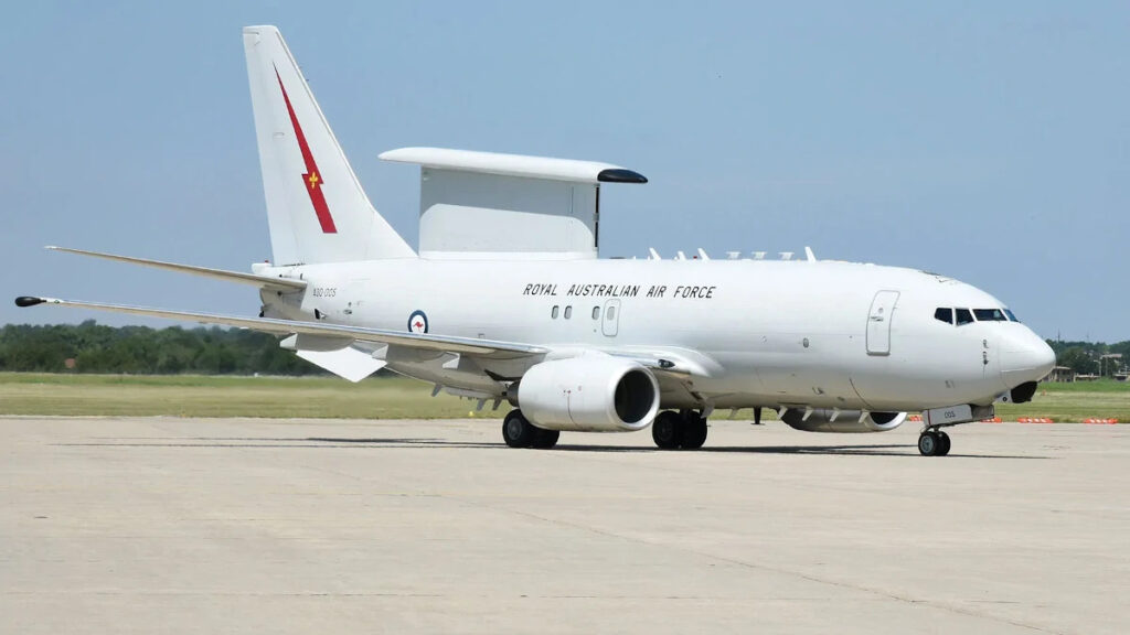 Κατασκοπευτικό Αεροπλάνο της Βασιλικής Αεροπορίας της Αυστραλίας (RAAF) τύπου E-7A-Wedgtail