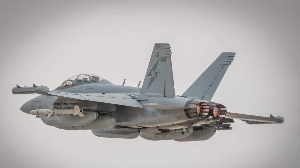 Μαχητικό Αεροπλάνο της Βασιλικής Αεροπορίας της Αυστραλίας (RAAF) τύπου EA-18G-Glowers