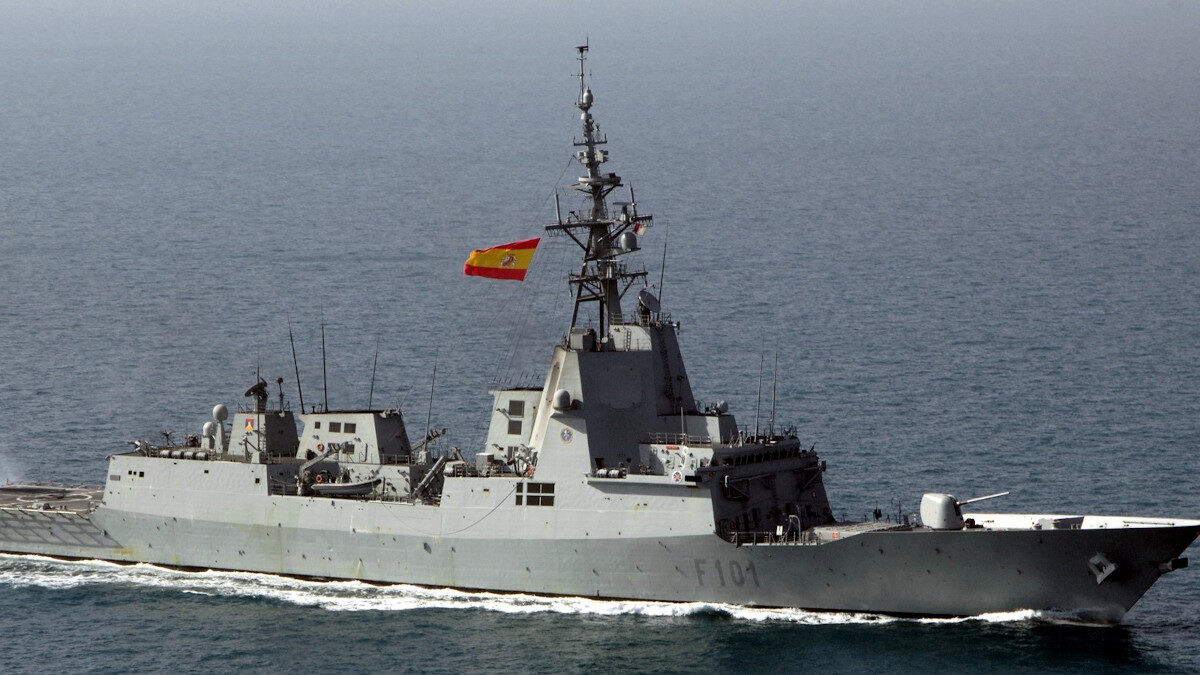 Φρεγάτα του Βασιλικού Ναυτικού της Ισπανίας Alvaro de Bazan (F1010)