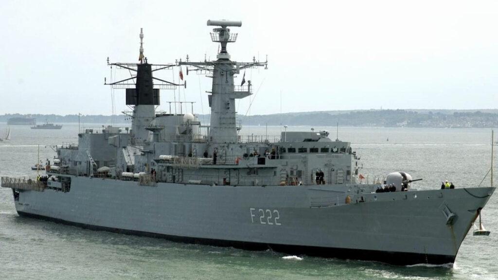 Φρεγάτα του Ρουμάνικου Ναυτικού Regina Maria (F222)
