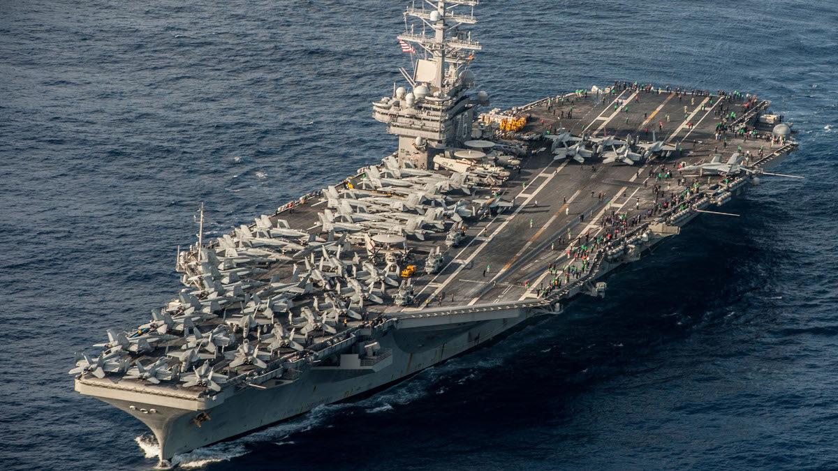 Αμερικανικό Αεροπλανοφόρο USS Ronald Reagan