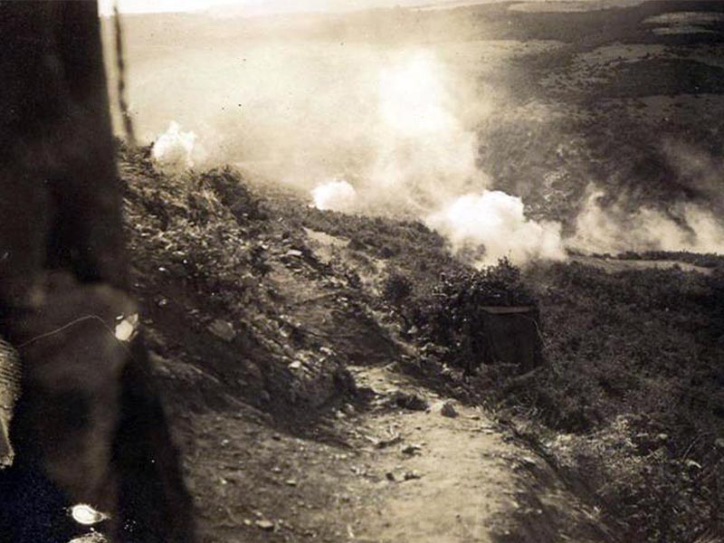 Χρήση χημικών αερίων στον Α΄ Παγκόσμιο Πολέμο